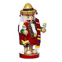 Kurt Adler, pieza para la mesa del cascanueces mexicano de 10.25 pulgadas - Colección Chubby