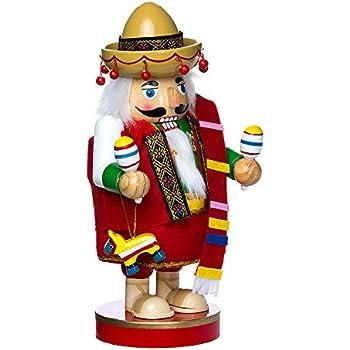 Kurt Adler 10.25-Inch Mexican Nutcracker Tablepiece - Chubby Collection