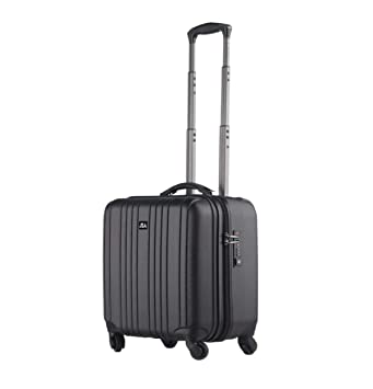 Lightpak 949763 - Maleta Trolley ABS 4 Ruedas 2 en 1, Color Negro: Amazon.es: Informática