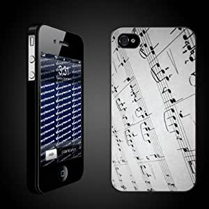 Victory Musical Theme iPhone Case Designs Page Music/Musical Notes - Protective iPhone 4/4S Hard Case-Clear by icecream design