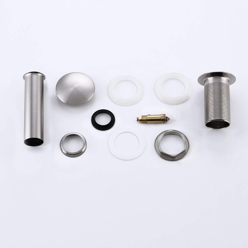 Golden KES S2008D-4 Bathroom Faucet Vessel Vanity Sink Pop Up Drain Stopper without Overflow
