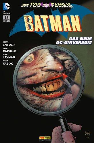 Batman #16 - Der Tod der Familie (2013, Panini) ***New 52***