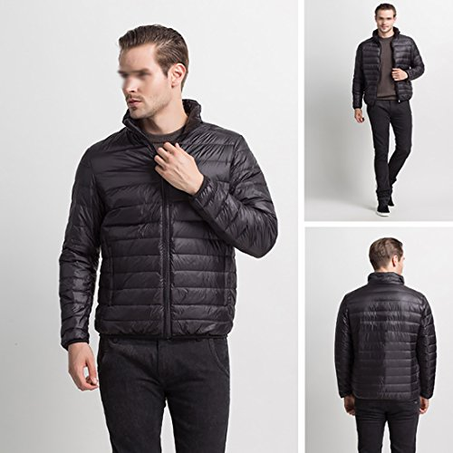 Jacket Padded Down HDH Warmth For Puffer Vivid Zip Protection Coat Blue Featherweight Men's Packable Jacket g5wwqa8r