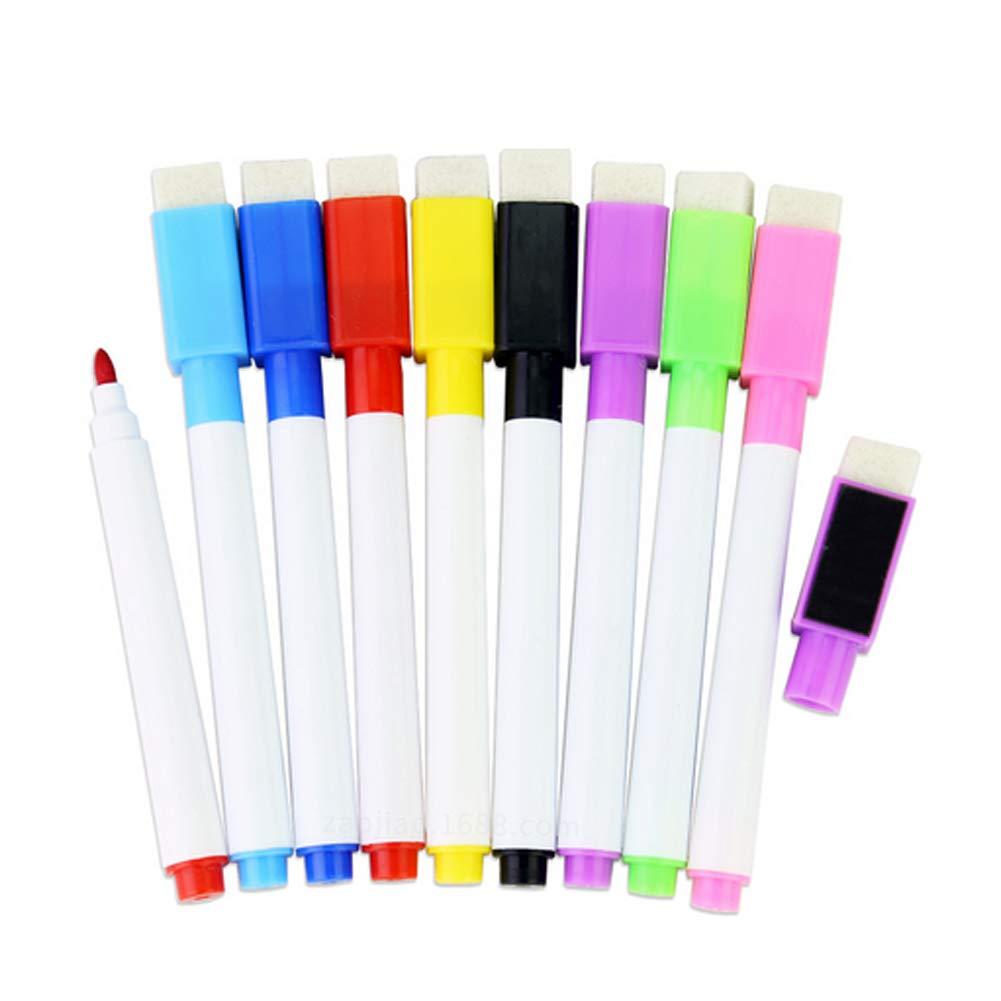 Trifycore Lavagna Magnetica Dry Erase pennarelli Pennarello con Tappo Gomma per la Scuola e L'Ufficio, Penna, Matita e cancelleria