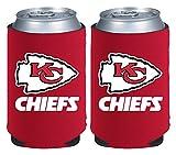 NFL Kansas City Chiefs Magnetic Kolder Kaddy, 2-Pack, Red