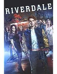 """Riverdale CW TV Show cast Reprint Signed Autographed 12x18"""" Poster Photo #1 RP"""