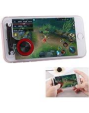 JSANSUI Game joystick PC Mobiele Spelletjes Joystick Artifact Hand Travel Button Sucker, voor IPhone, Android Telefoon, Tablet, Rood