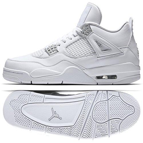 AIR JORDAN 4 RETRO Mens Sneakers 308497-117