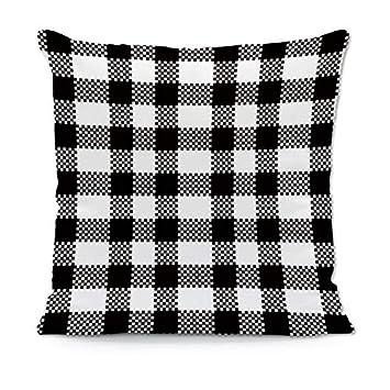 Amazon.com: YUHANG - Funda de almohada decorativa para sofá ...