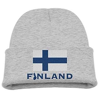 Amazon.com: RS-pthr2!!! Finland Flag Kid's Hats Winter