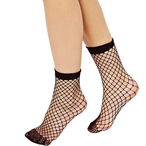Women+Sexy+Hollow+Fish+Net+Mesh+Short+Ankle+Socks+Tight+Hosiery