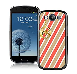 Hot Sale Customized Samsung Galaxy S3 With Michael Kors 153 Black Plastic Cell Phone Case For Samsung Galaxy S3 I9300 Easy Set
