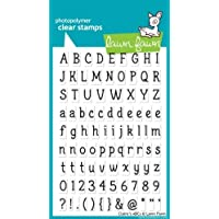 Claire's Abcs Clear Stamp Set (Lawn Fawn) by Lawn Fawn