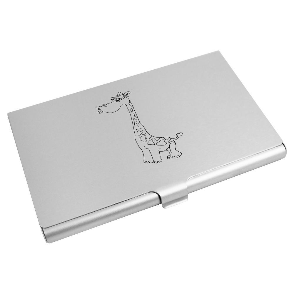 Azeeda 'Girafe' Porte Carte de Visite / Porte Carte de crédit (CH00003486)