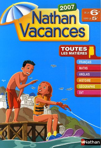 Nathan Vacances De La 6e Vers La 5e Telecharger Lire En