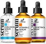 Best Anti Aging Vitamin Cs - ArtNaturals Anti-Aging-Set with Vitamin-C Retinol and Hyaluronic-Acid Review
