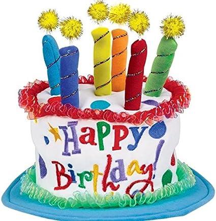 Pleasant Amazon Com Boys Birthday Cake Hat Kitchen Dining Funny Birthday Cards Online Hetedamsfinfo