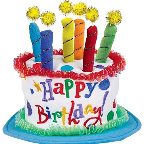 (Boys Birthday Cake Hat)