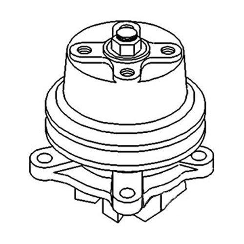 Amazon Com All States Ag Parts Water Pump Kubota M4000 Sw07452