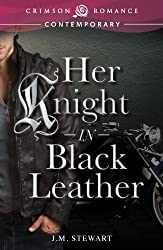 Her Knight in Black Leather (Crimson Romance)