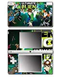 Ben Ten 10 Ultimate Alien Omnitrix Tennyson Video Game Vinyl Decal Skin Sticker Cover for Nintendo DSi System