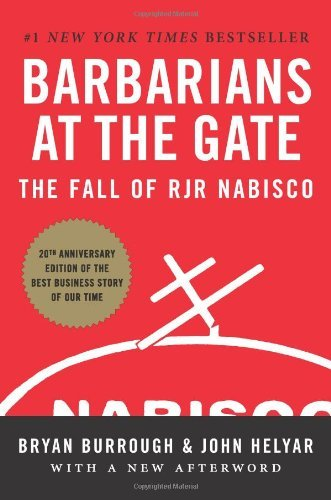 Pdf Money Barbarians at the Gate: The Fall of RJR Nabisco