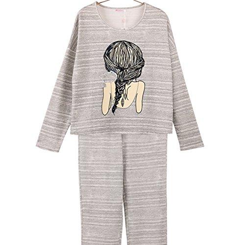 Otoño pijamas femeninos/ el manto/ Pijama/ yukata B