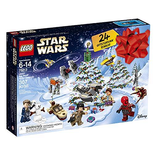 (LEGO 6213564 Star Wars Advent Christmas Countdown Calendar 75213 New 2018 Edition, Minifigures, Small Building Toys (307 Pieces),)
