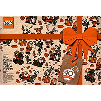 LEGO 2020 Employee Exclusive - 40 Years of The Minifigure - 4002020: Toys & Games