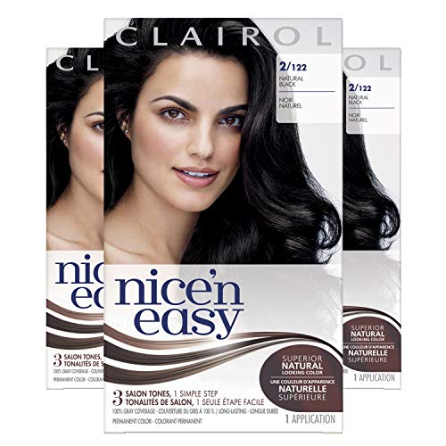 Clairol Nice'N Easy  Original  2 Black (Pack of 3)