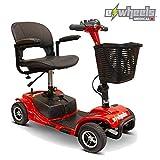 eWheels EW-M34 Long Range Lightweight 4-Wheel Mobility Scooter 300Lbs - UNASSEMBLED