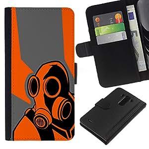 B0rderlands juego Psycho - la tarjeta de Crédito Slots PU Funda de cuero Monedero caso cubierta de piel Para LG G3