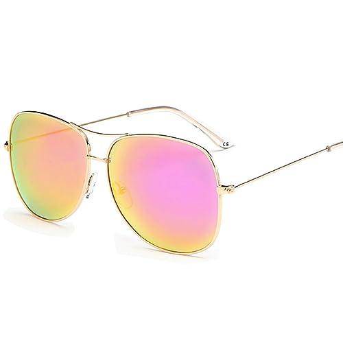 BVAGSS Polarizado Aviador UV400 Gafas De Sol Con Diseño De Moda Para Hombre Y Para Mujer(WS005)