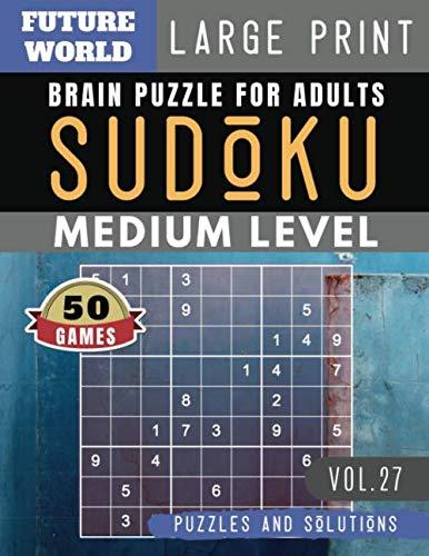 Sudoku Medium: Future World Activity Book   Full