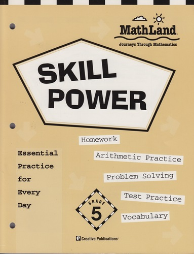 Skill Power Math Land Grade 5 Homework Arithmetic Practice