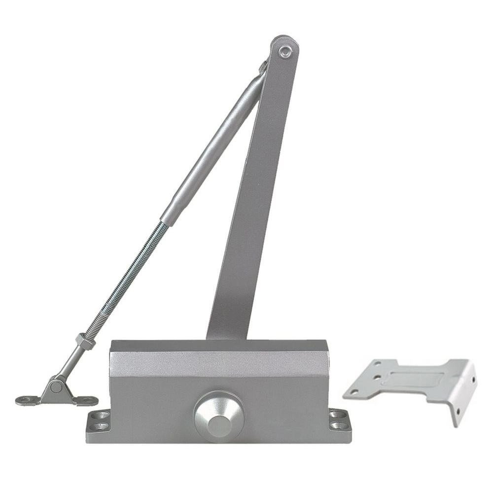Global Door Controls TC303-PA-AL Size 3 TC300 Series Light Duty Door Closer with Parallel Arm Bracket in Aluminum by Global Door Controls (Image #1)