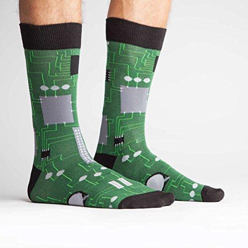 51cqu7E99oL - Circuit Board Socks