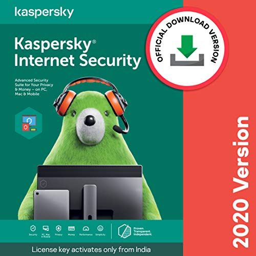 Kaspersky Internet Security (Windows / Mac / Android) Latest Version – 1 User, 3 Years (Code emailed in 2 Hours – No CD)