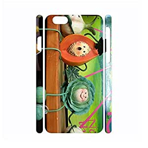 Fashional Delicious fruit series Protective Snap On Hard Plastic Case for Iphone 6 Case - 4.7 Inch