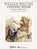 img - for Concert Songs Vol. 2 High Voice 2001-2012 book / textbook / text book