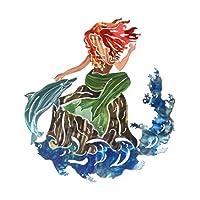Next Innovations WA3DLMERMAID Mermaid Refraxions 3D Wall Art