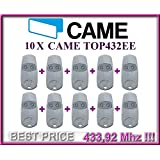 10 X CAME TOP432EE remote contols. 2-channel Came Top 432 EE remote controls (fixed code, frequency 433,92 MHz). 3 PIECES!!!