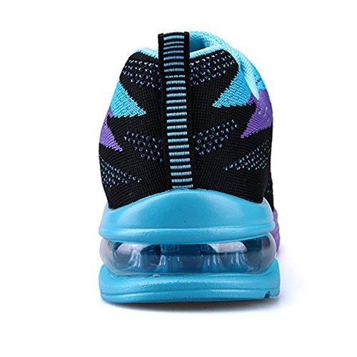 Image of JARLIF Women's Lightweight Jogging Training Running Shoes Athletic Walking Tennis Sneakers US5.5-10