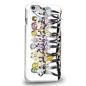 "Case88 Premium Designs Vocaloid Miki Hatsune Miku Haku Luka Lin 0943 Protective Snap-on Hard Back Case Cover for Apple iPhone 6 Plus 5.5"""