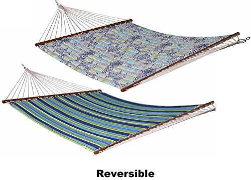 Eclipse Collection Quilted Fabric Hammock - Double (Pacifica) by Eclipse Curtains