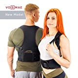 VOSMAE Posture Corrector Back Brace for Woman Men - Improve Universal Comfortable Fully