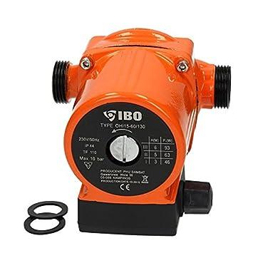Umwälzpumpe IBO 15-60 /130 Heizungspumpe Pumpe Warmwasser Heizung ...