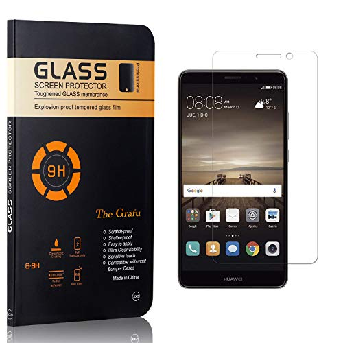 The Grafu Screen Protector for Huawei Mate 9 Ultra Thin Tempered Glass Screen Protector 9H Hardness Screen Protector CompatibleHuawei Mate 9 3 Pack