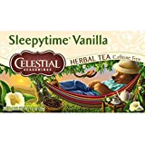 Celestial Seasonings Sleepy Time Vanilla Herbal Tea, 20 Count