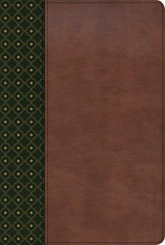 RVR 1960 Biblia de Estudio Scofield, verde oscuro/castaño símil piel con índice (Spanish Edition)